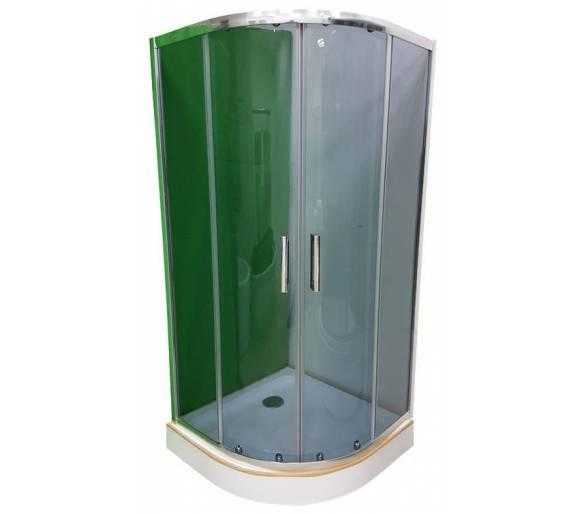 Душевая кабина Veronis KN-3-90 купить тонированное стекло 90*90 см.