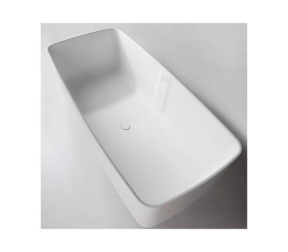 Ванна каменная Volle отдельностоящая Solid surface 1680*80