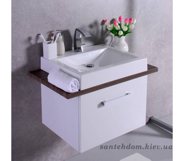 Тумба Fancy Marble Santa Cruz с Lilly 600