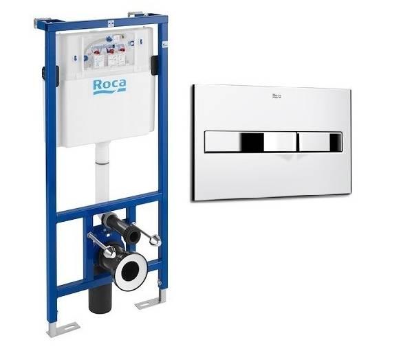 Комплект: PRO инсталяция для унитаза, PRO кнопка