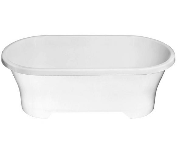 Акриловая ванна Polimat Amona 150x75 отдельностоящая белая