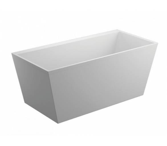 Акриловая ванна Polimat Lea 170x80 отдельностоящая белая