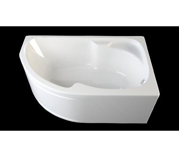 Акриловая ванна Nabucco 170x105 см. правая
