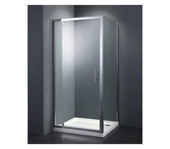 Душевая кабина Dusel А-516 100x100x1900 стекло прозрачное
