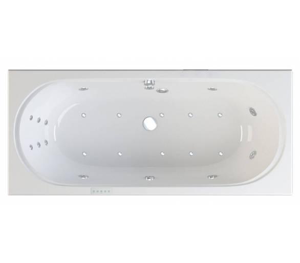 Гидро- аэромассажная ванна Riva Pool Figaro 180x80 см HydroAeroOPTIMA