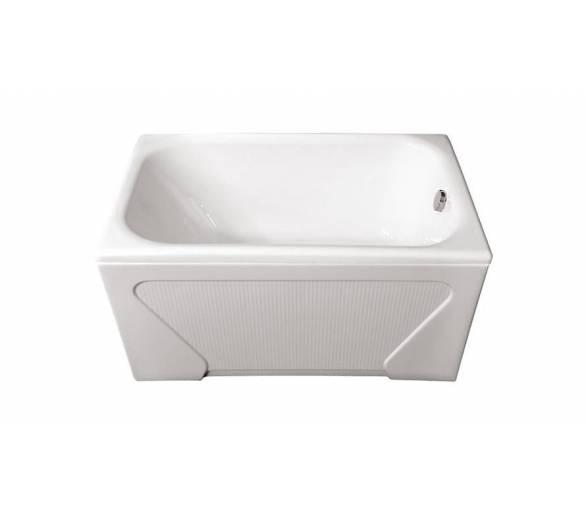 Акриловая ванна Тритон Лиза 120 + панель + ножки