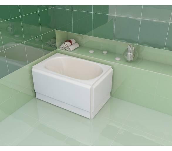 Акриловая ванна Artel Plast Голуба 120*70
