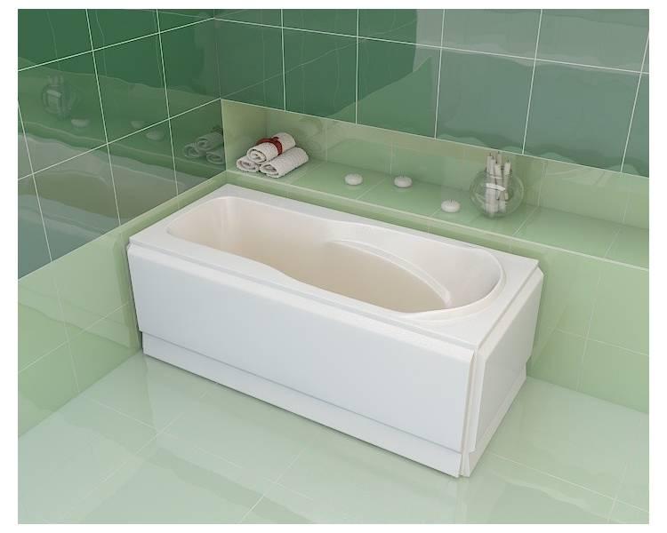 Акриловая ванна Artel Plast Цветана 170*75