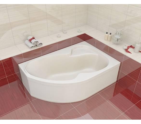 Акриловая ванна Artel Plast Валерия 160*105