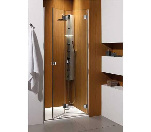 Складная душевая дверь Radaway Carena DWB типа bi-fold