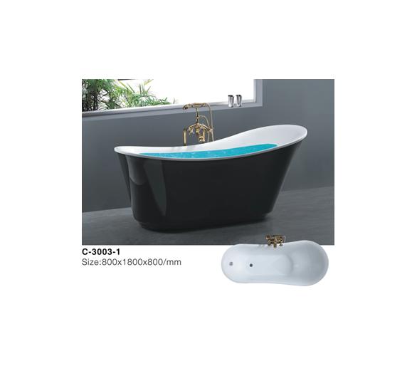 Ванна акриловая отдельностоящая Atlantis C3003-1