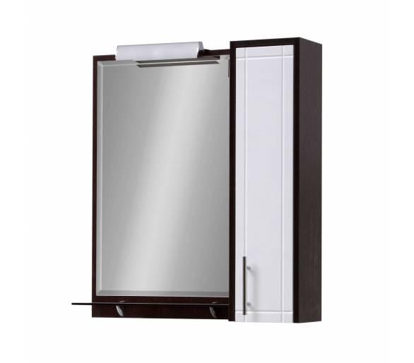 Зеркало для ванной Венге Z-1 70,80 см.