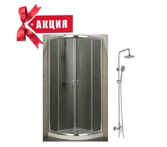 Душевая кабина BALATON 90 см + BILA SMEDA душ. стойка