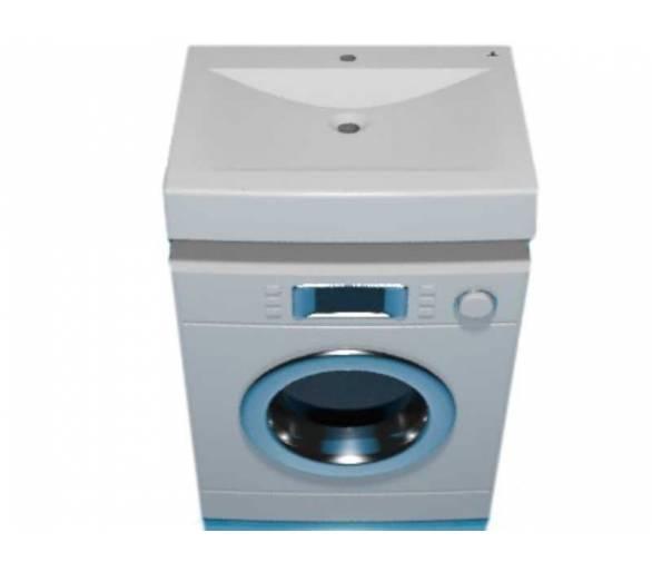 Умывальник для установки над стиральной машиной 60 см.