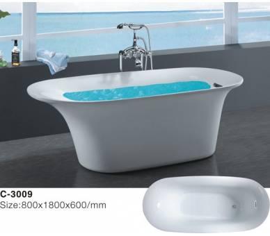 Ванна акриловая Atlantis C 3009