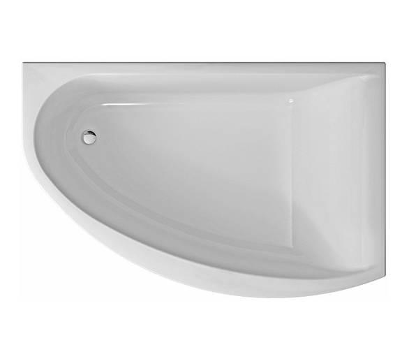 Акриловая ванна MIRRA 170х110 см.
