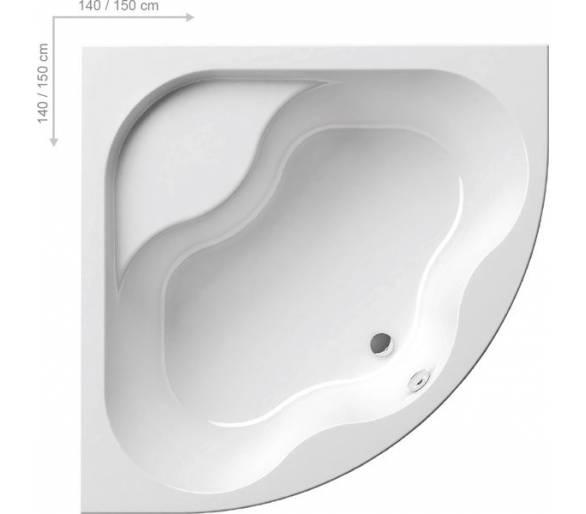 Акриловая ванна Gentiana