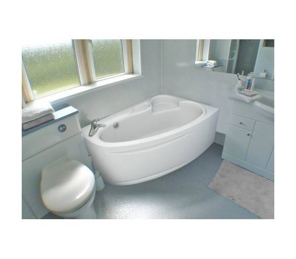 Акриловая ванна Bliss Milena 170х110 правая